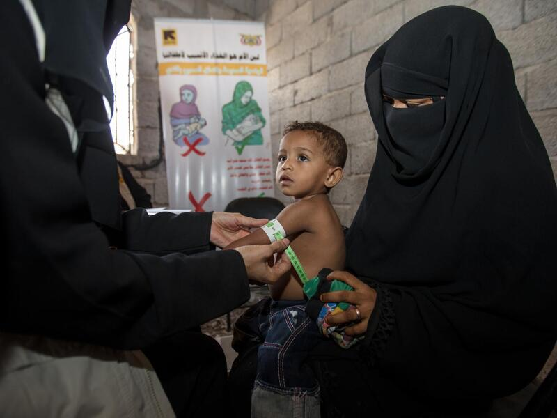 The World Food Programme has warned that many Yemenis could be on the brink of famine in 2021.