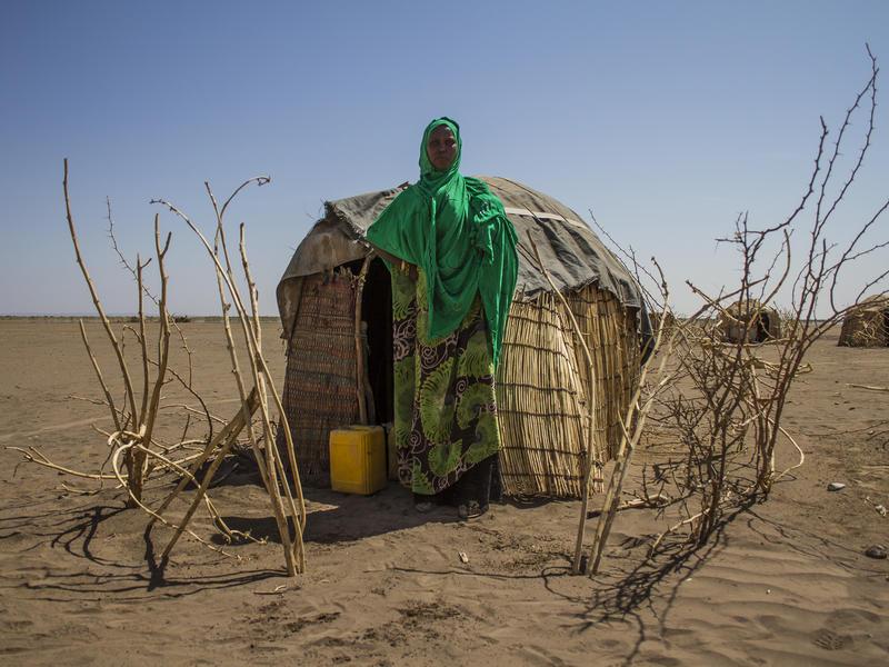 A pastoralist in the Somali region of Ethiopia