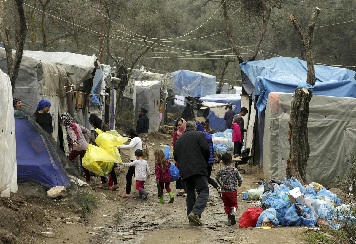 The overcrowding in Moria is intense and the camps are now six times over-capacity, coronavirus spreads faster in densely populated places as people can't practice social distancing.