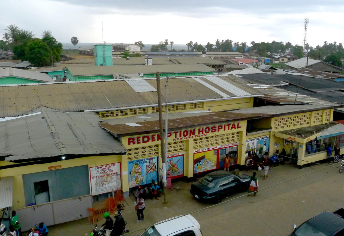 Redemption Hospital, in Liberia's capital of Monrovia, serves as the only free general hospital in the city.