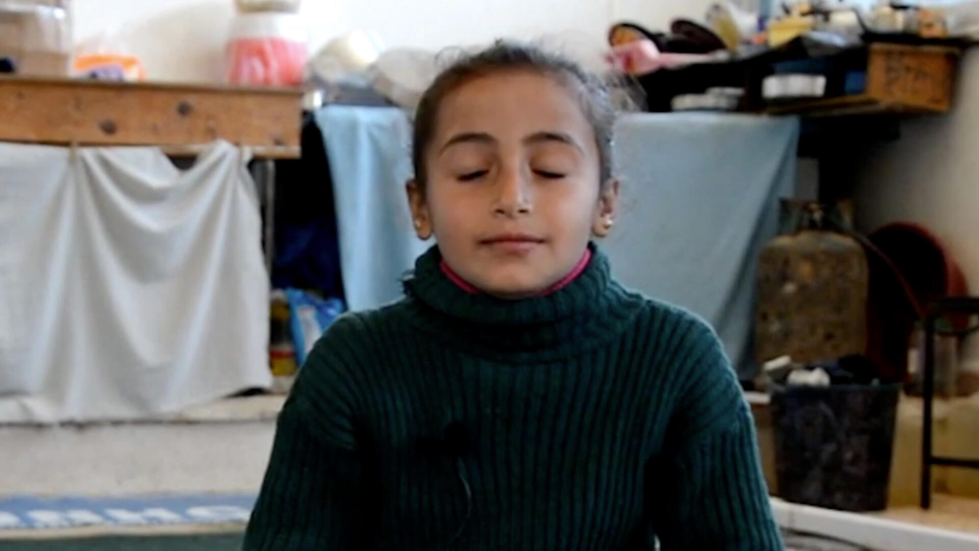 This Syrian 8 year old practices mindfulness to conquer her fears