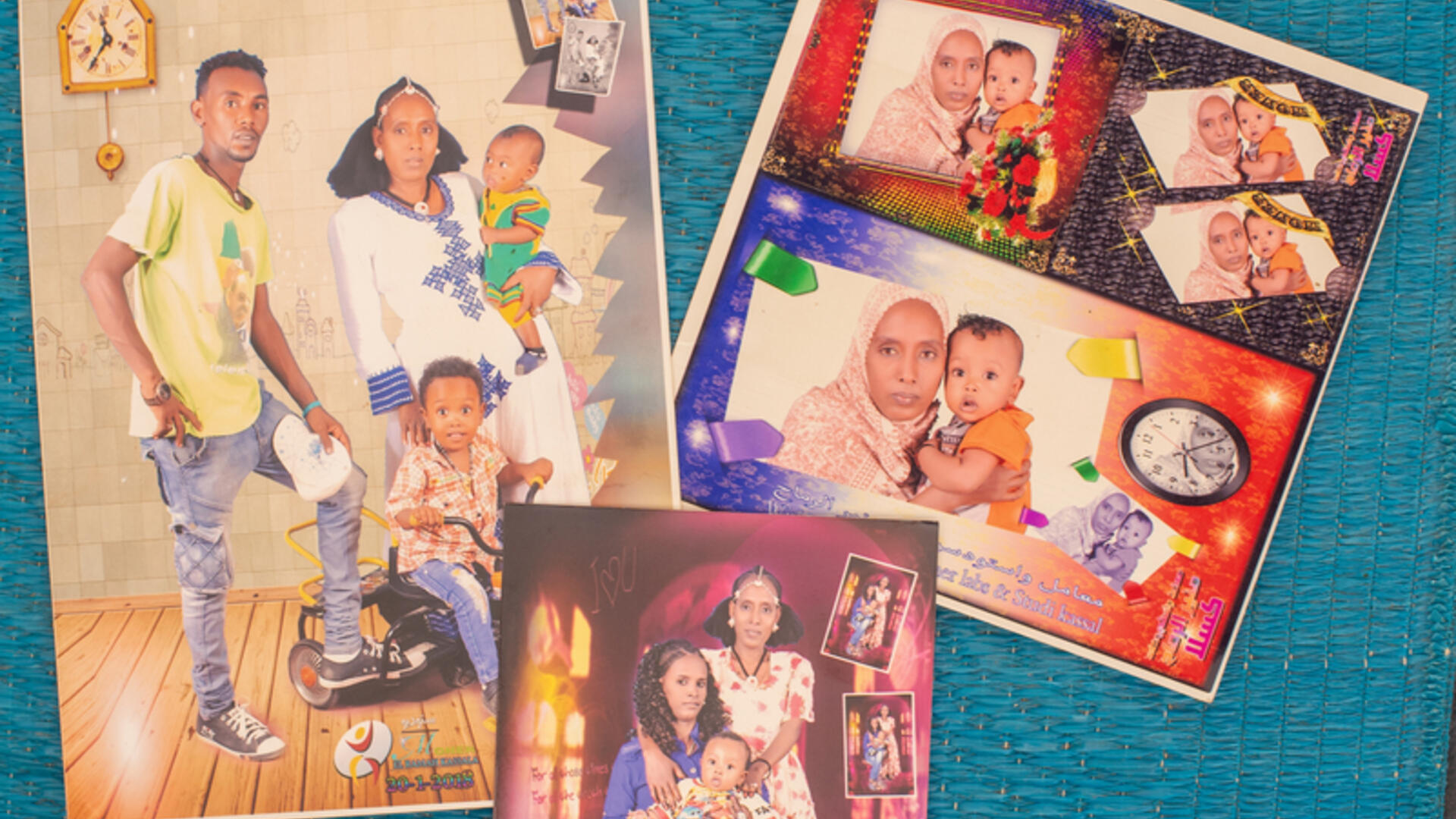 Mulu's old family photos.