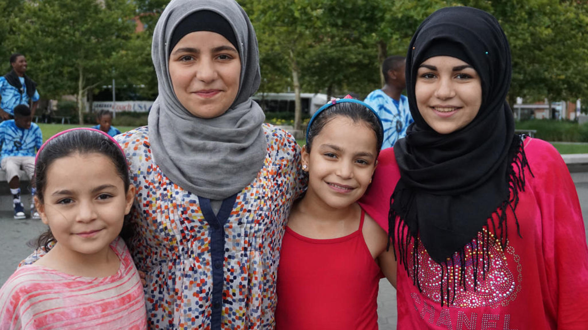 Syrian sisters resettled in Baltimore