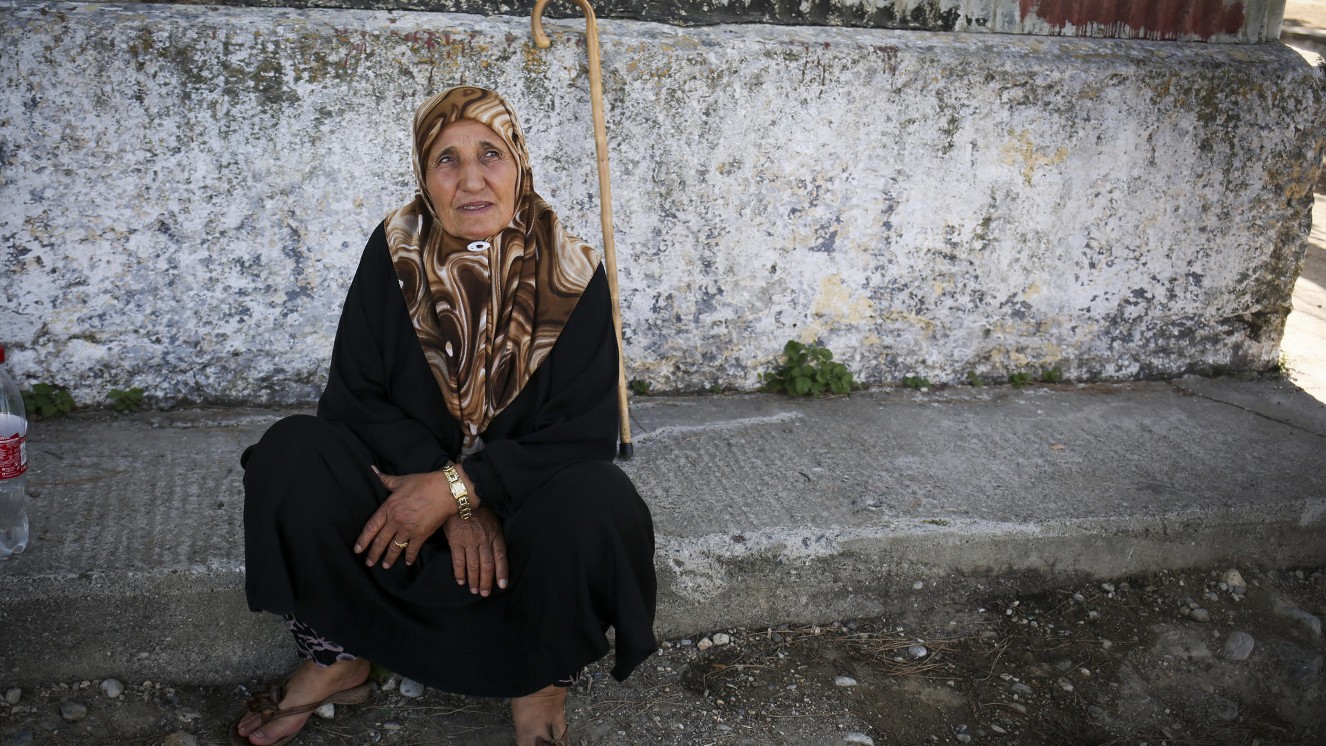 Sixty-year-old Marian* lost her only son to the war in Syria